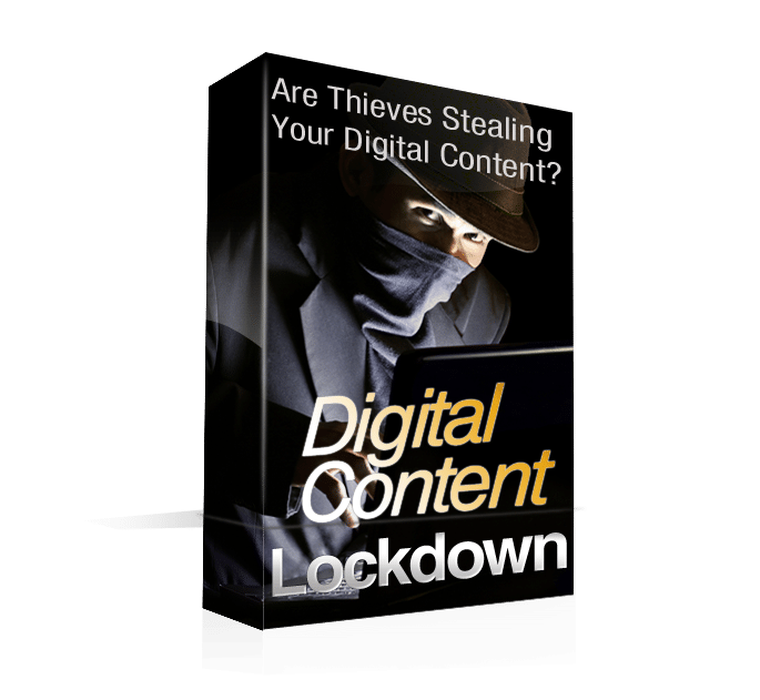 Prevent Cyber Robbery of Digital Content
