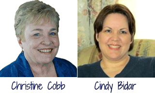 Christine Cobb & Cindy Bidar