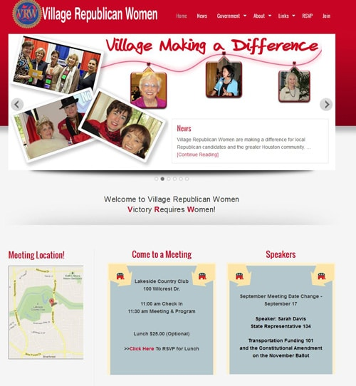 Village Republican Women website