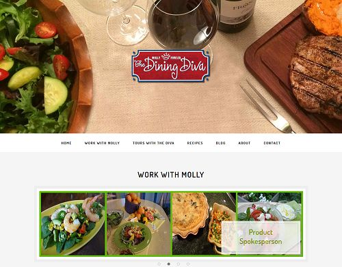 The Dining Diva Website
