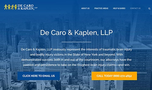 De Caro & Kaplen LLP website